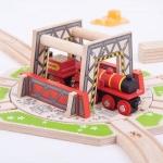 Platforma industriala rotativa