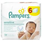 Servetele umede Pampers Sensitive Baby 6 pachete 336 buc