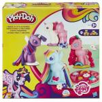 Set Plastilina Play Doh Creeaza si Decoreaza Ponei