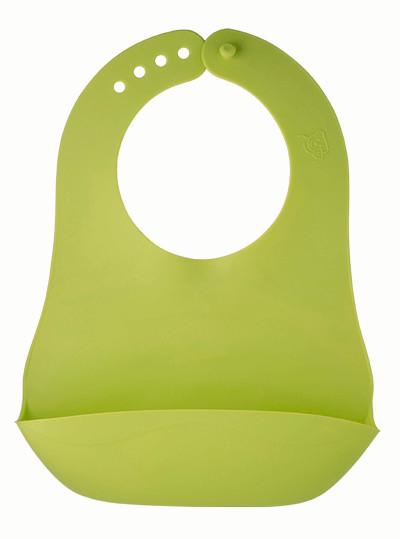 Baveta Moale Pliabila Apple Green Rotho Babydesign