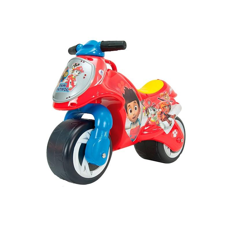Motocicleta fara pedale Injusa Neox Paw Patrol