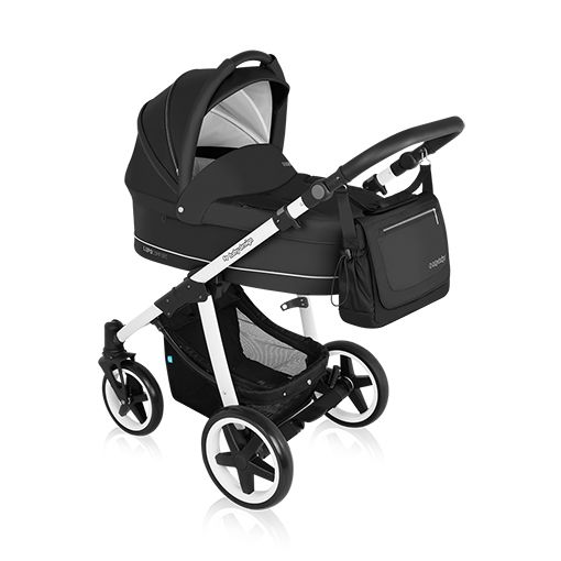 Carucior multifunctional 2 in 1 Baby Design Lupo Comfort Black 2016