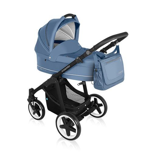 Carucior multifunctional 2 in 1 Baby Design Lupo Comfort Jeans 2016