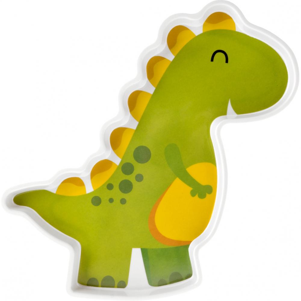 Farfurie melamina Dinozaur Lulabi 9512300 din categoria Alimentatie de la Lulabi