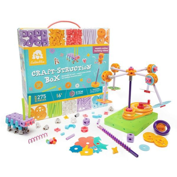 GoldieBlox - Inventii la feminin - Set de creativitate