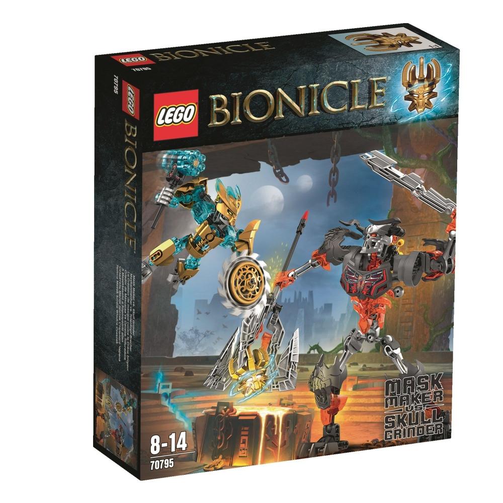 Lego Bionicle Creatorul De Masti Craniul Distrugtor 70795