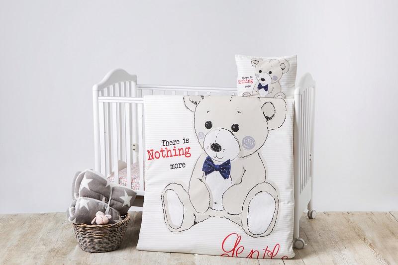 Lenjerie Patut Cu 4 Piese Teddy Bear Type 4
