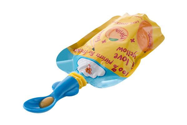 Lingurite pentru pungi de hrana 2buc.set Rotho babydesign