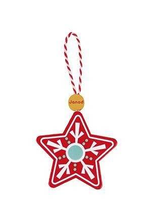 Magia Craciunului - Set 8 ornamente din lemn - J04539