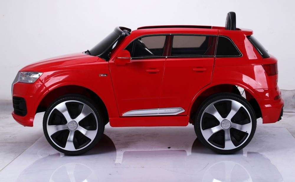 Masinuta electrica cu roti eva Audi Q7 Red - 1