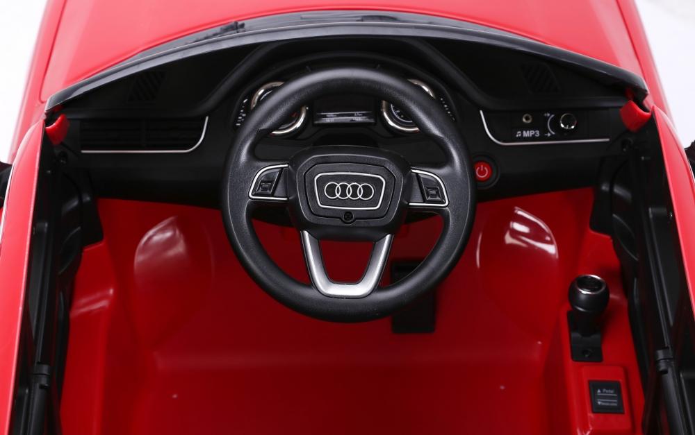 Masinuta electrica cu roti eva Audi Q7 Red - 3