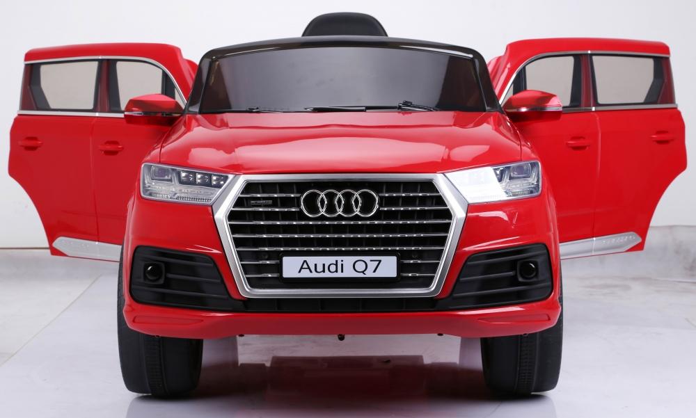 Masinuta electrica cu roti eva Audi Q7 Red - 4