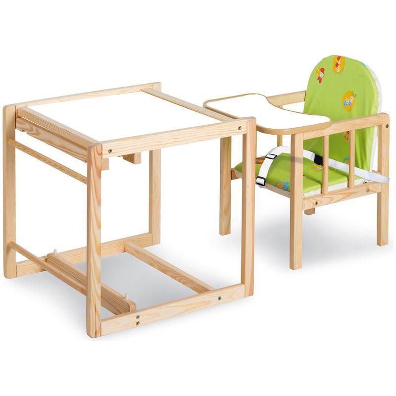 Scaun masa multifunctional din lemn Klups Aga I Natur-Green