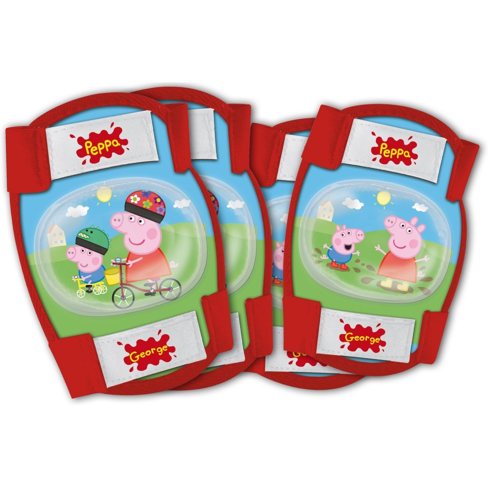 Set protectie Cotiere Genunchiere Peppa Pig Eurasia 70203