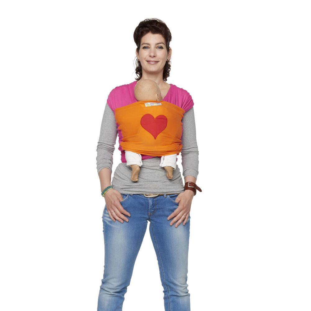 Sistem De Purtare Wrap Elastic Deluxe Design Heart