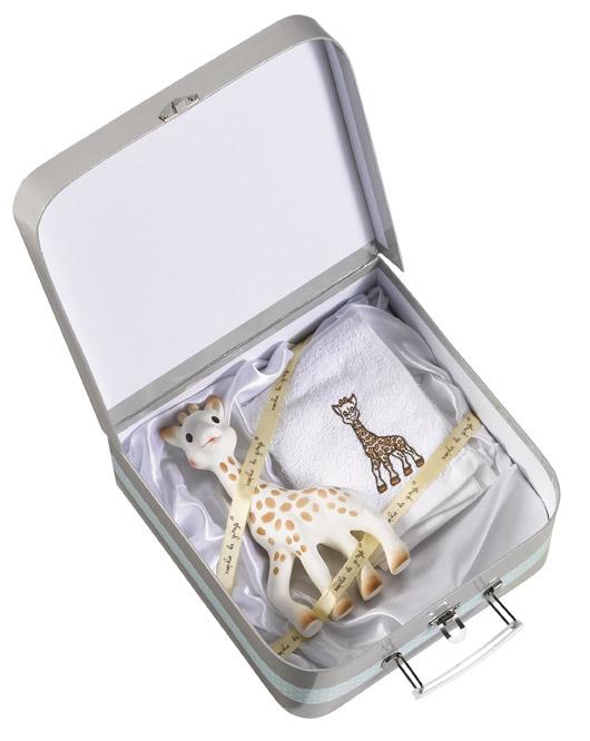 Girafa Sophie in valiza cadou