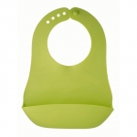 Baveta moale pliabila Apple green Rotho babydesign