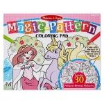 Bloc de colorat modele magice Roz - Melissa and Doug