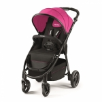 Carucior 2 in 1 pentru Copii Citylife Pink cu Landou si Scaun Auto Privia Recaro