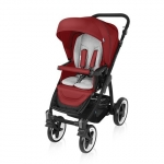 Carucior multifunctional 2 in 1 Baby Design Lupo Comfort Dark Red 2016