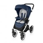 Carucior multifunctional 2 in 1 Baby Design Lupo Comfort Navy 2016