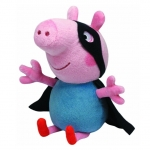 Plus licenta Peppa Pig, George Supereroul (28 cm) - Ty