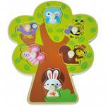 Puzzle din lemn Copac Sun Baby