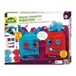 Set crosetat doi monstruleti de lana