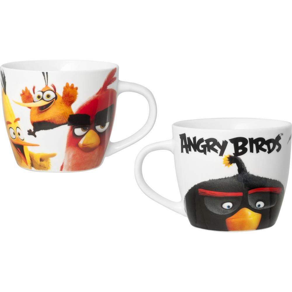 Cana portelan Angry Birds 220ml Lulabi 8161762