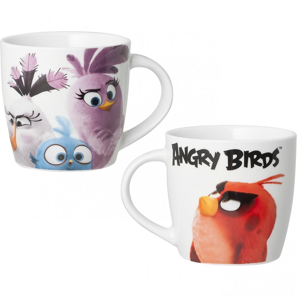 Cana Portelan Angry Birds 330ml Lulabi 8161768