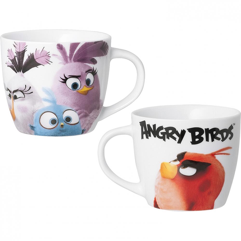 Cana portelan Angry Birds 400ml Lulabi 8161765