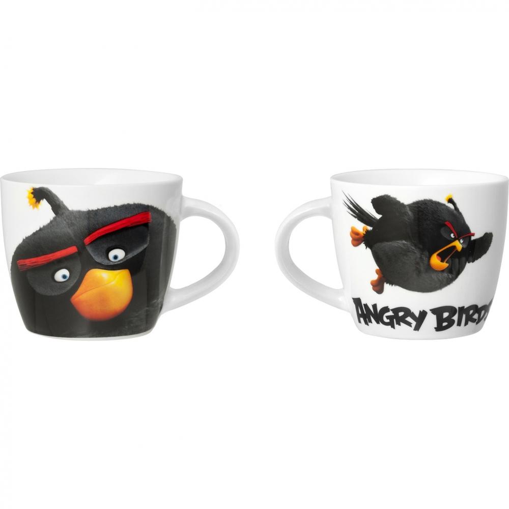 Ceasca portelan Angry Birds 140ml Lulabi 8161760