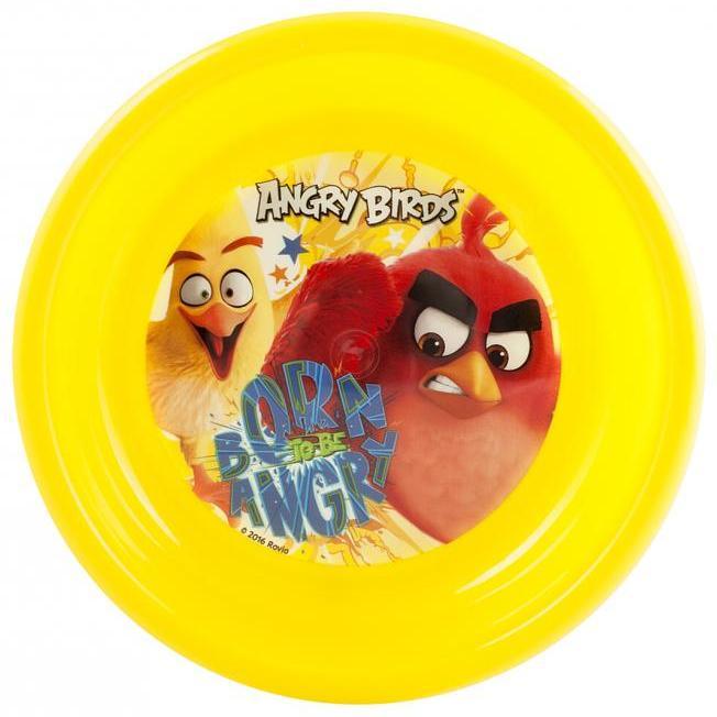 Farfurie Adanca Plastic Angry Birds Lulabi 8161002