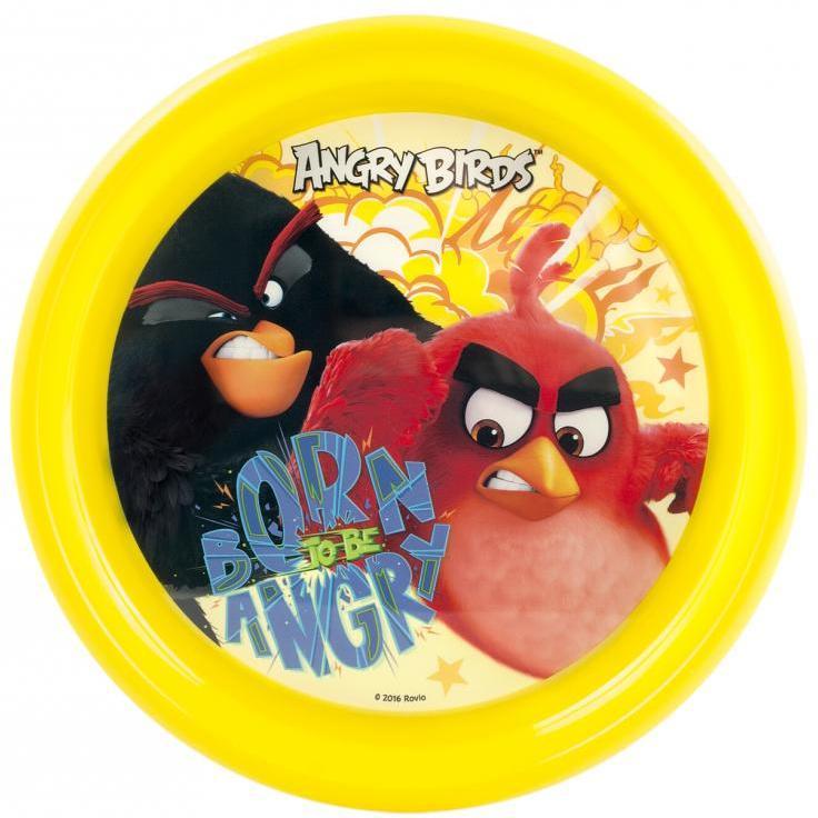 Farfurie plastic Angry Birds Lulabi 8161001