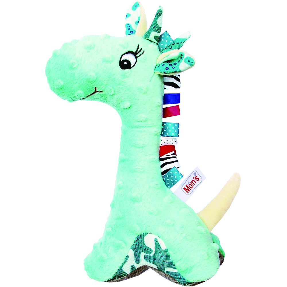 Jucarie Dezvoltare Moms Girafa Turcoaz