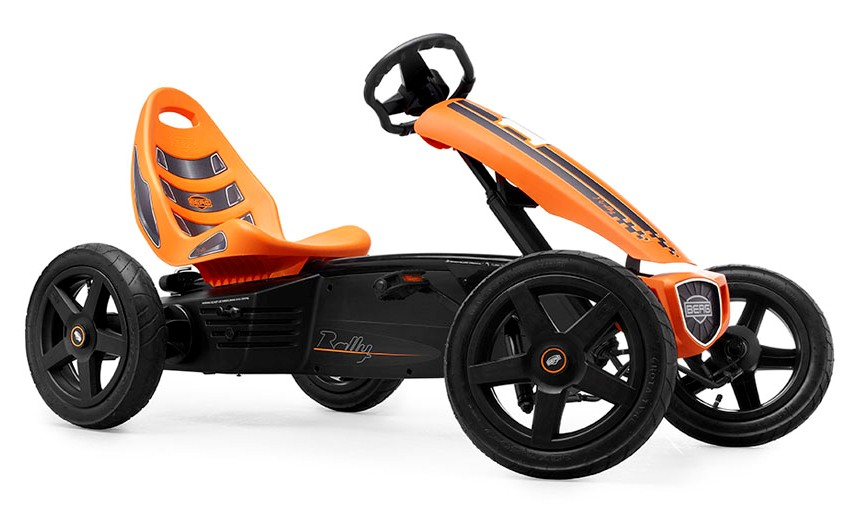 Kart Cu Pedale Berg Rally Orange