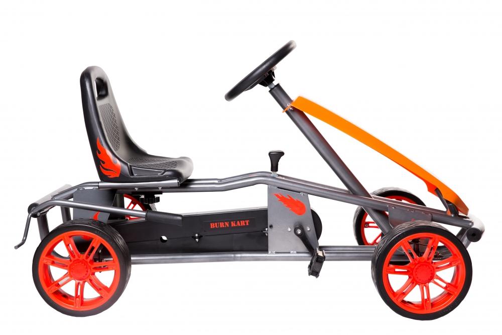 Kart cu pedale pentru copii Burn Red
