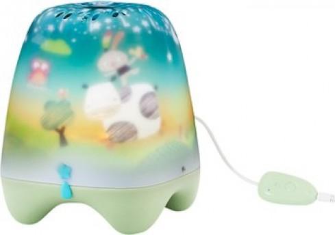 Lampa de veghe pentru copii si bebelusi Pabobo cu cantece linistitoare cu senzor pentru plansul copiilor imagine