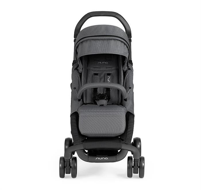 Carucior Ultracompact Pepp Luxx cu bara de protectie Graphite