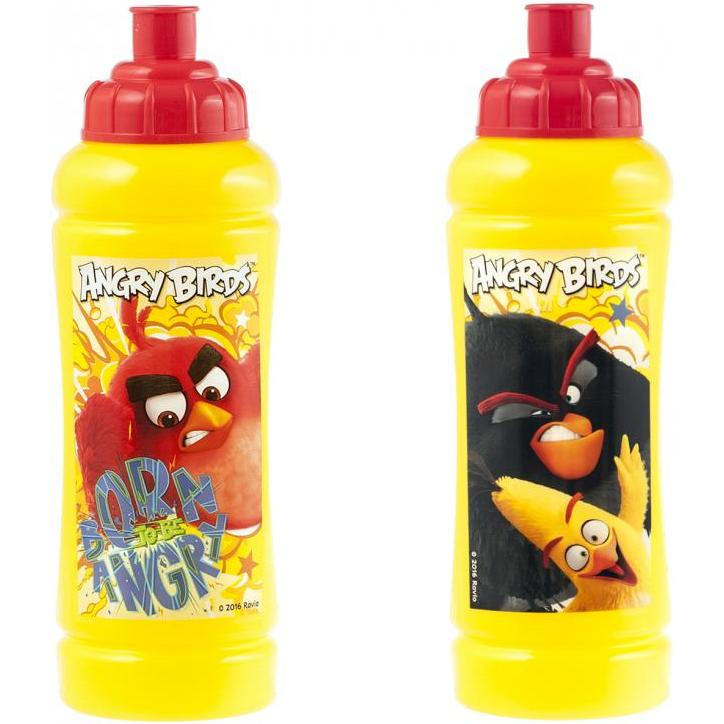 Sticla apa plastic Angry Birds Lulabi 8161100 imagine