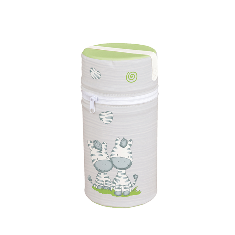 Suport termoizolant Mini Ceba Baby Zebra Gri imagine