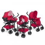 Carucior 3 in 1 Chicco Trio Sprint car kit RedPassion 0luni+