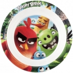 Farfurie adanca melamina Angry Birds Lulabi 8161502