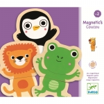 Joc cu magneti Djeco  Animale- prietenoase
