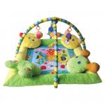 Saltea de activitate plus Play Gym cu 4 perne 80x80 cm