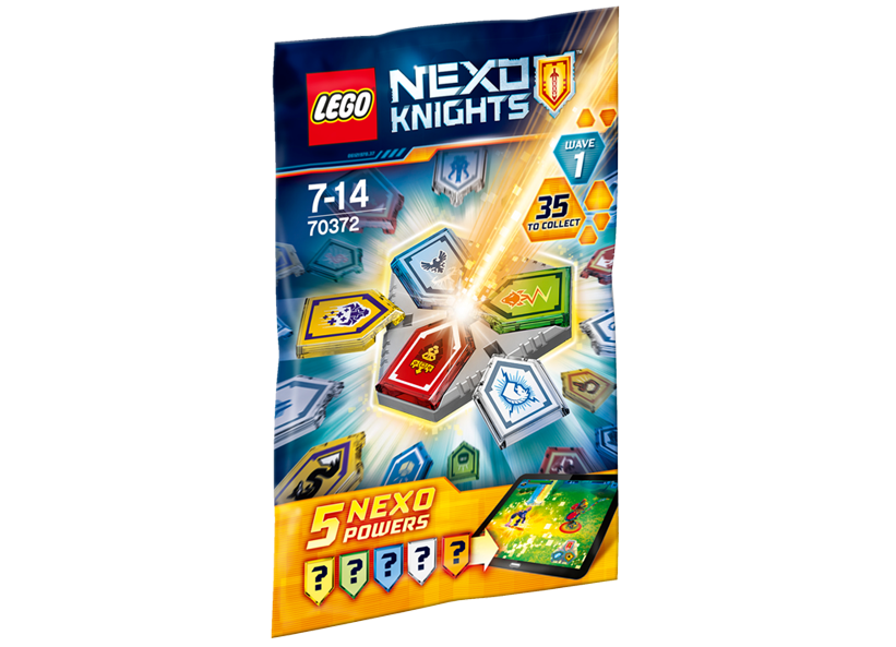 Combo Nexo Powers - Seria 1 (70372)