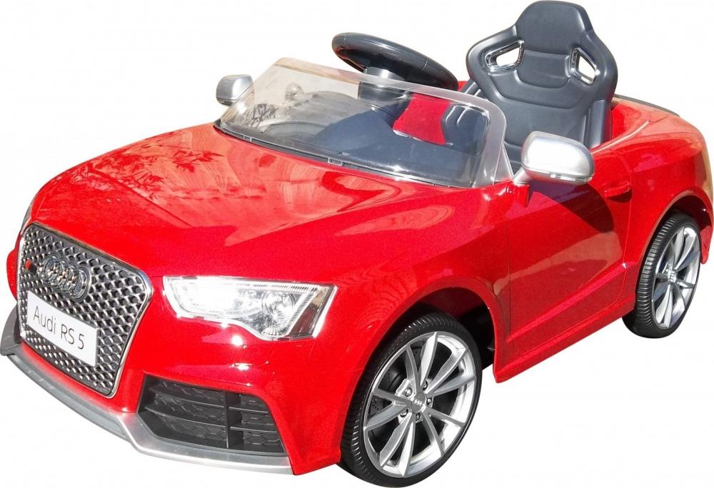 Masinuta electrica 12 V Audi RS5 cu telecomanda Red