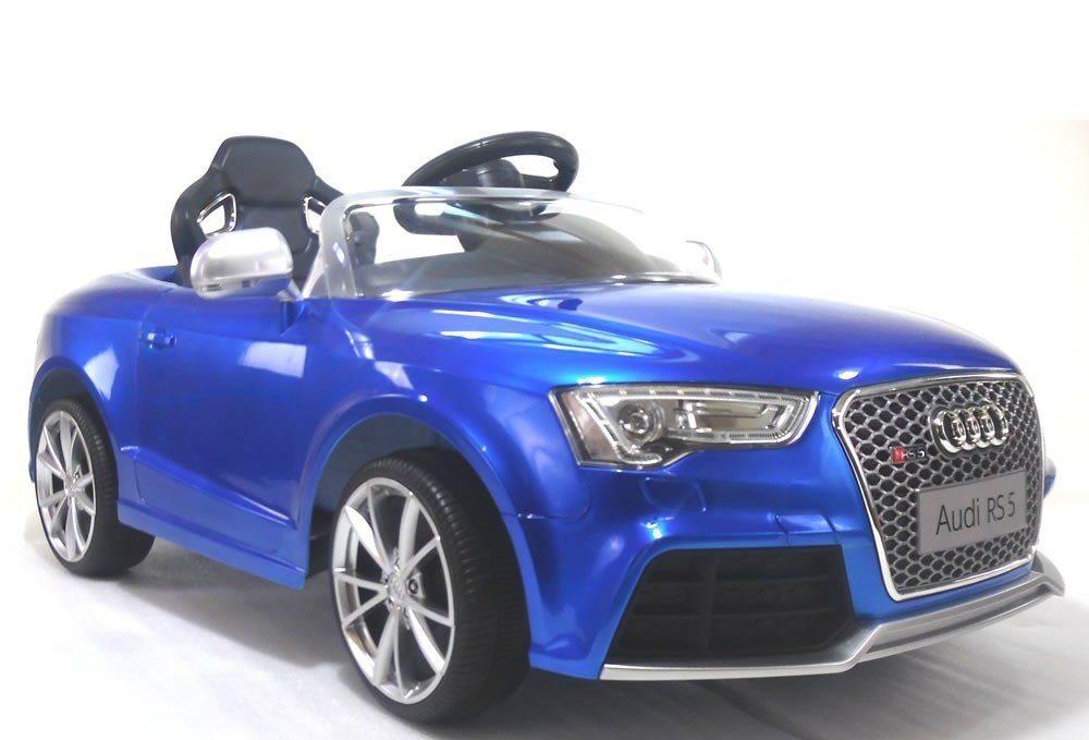 Masinuta electrica 12 V Audi RS5 cu telecomanda Blue