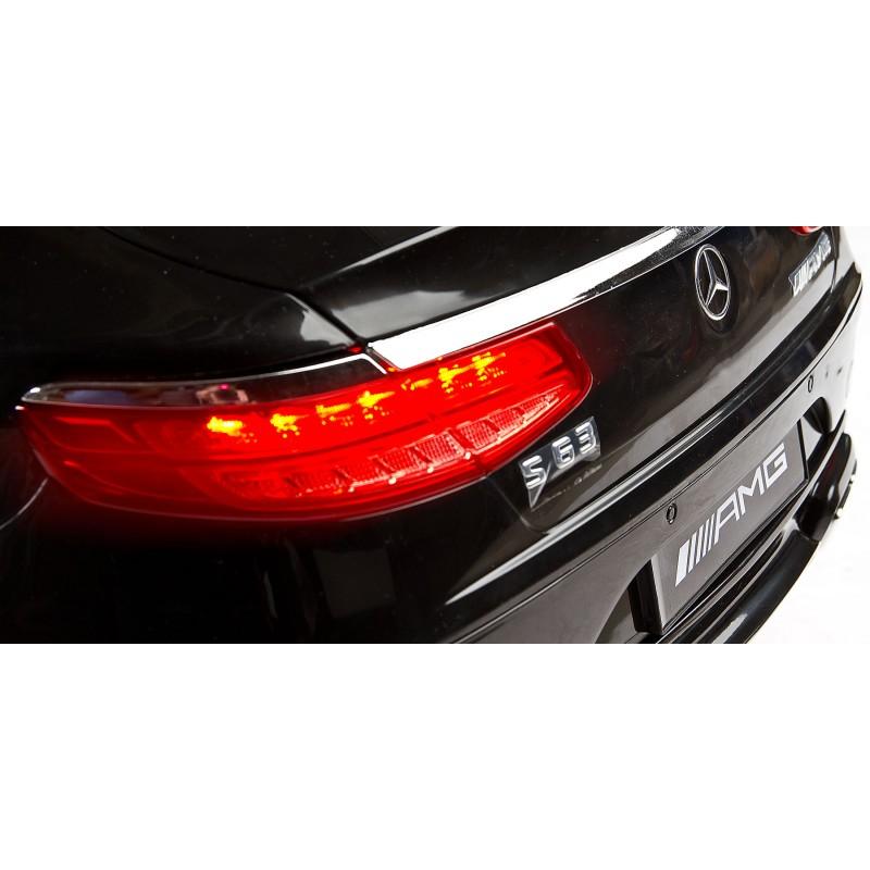 Masinuta electrica Toyz Mercedes-Benz S63 AMG 12V black