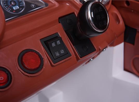 Masinuta electrica cu roti din cauciuc Super Class Jeep Rosu